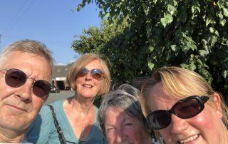 New/Events - Selfie after delivering Leaflets in Shrewsbury